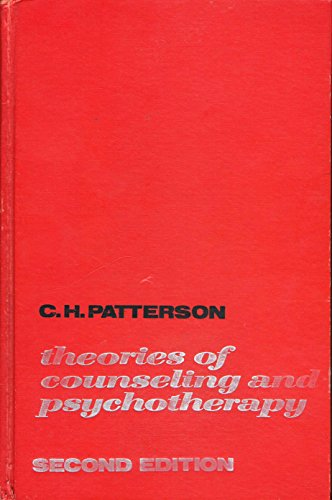 9780060450564: Theories of Counselling and Psychotherapy