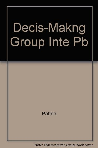 9780060450618: Decision-Making Group Interaction