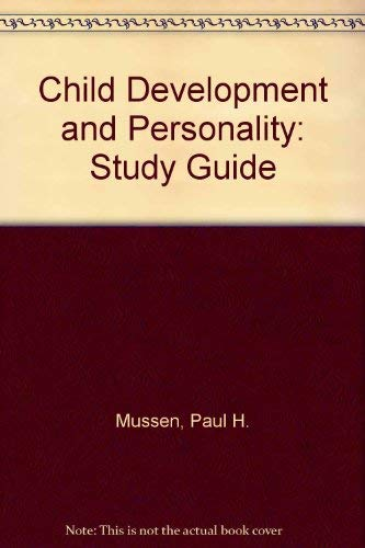 9780060451417: Child Development and Personality: Study Guide