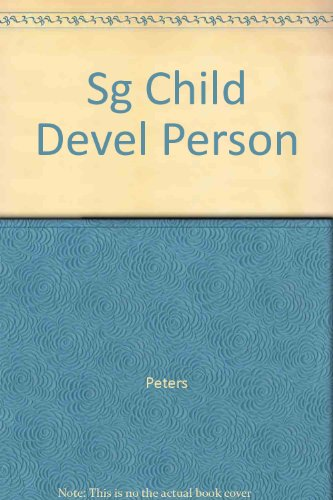 9780060451486: Sg Child Devel Person