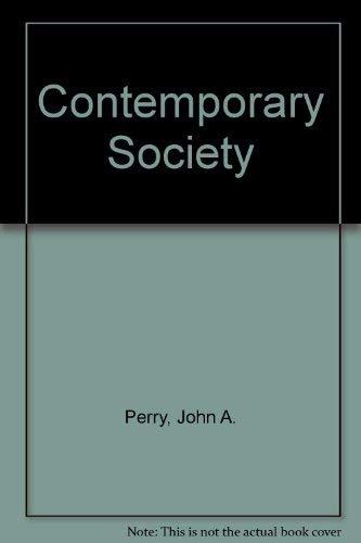 9780060451547: Contemporary Society