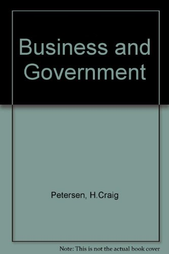 9780060451578: Business and Government