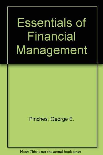 9780060451981: Essentials of Financial Management