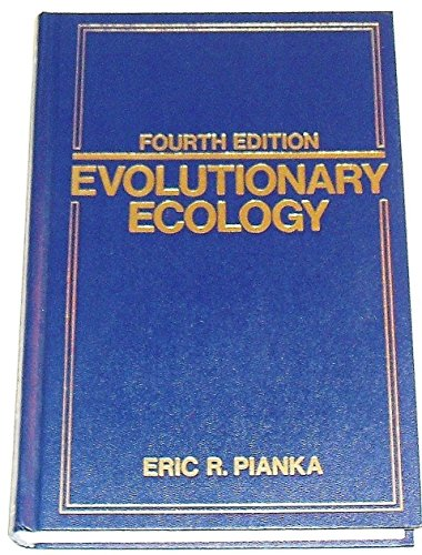9780060452162: Evolutionary Ecology