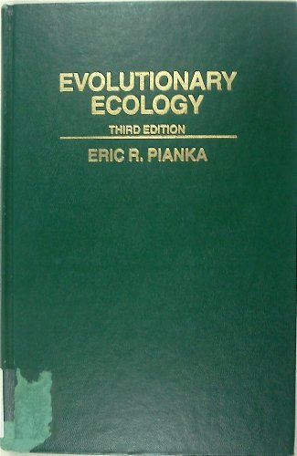9780060452322: Evolutionary Ecology