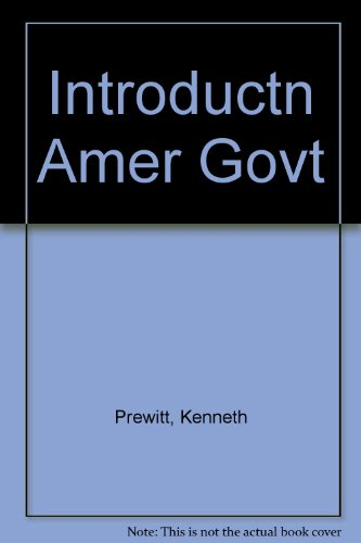 9780060452797: Introduction to American Government
