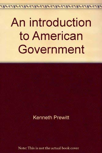 9780060452810: An introduction to American Government