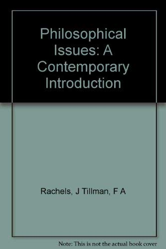 9780060453039: Philosophical Issues: A Contemporary Introduction