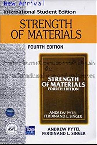 9780060453138: Strength of Materials