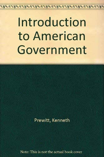 9780060453268: Introduction to American Government