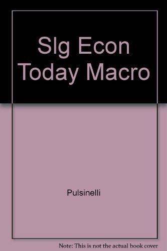 9780060453312: Slg Econ Today Macro