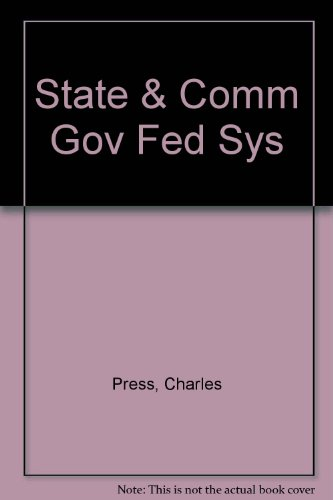 9780060453664: State and Community Governments in a Dynamic Federal System