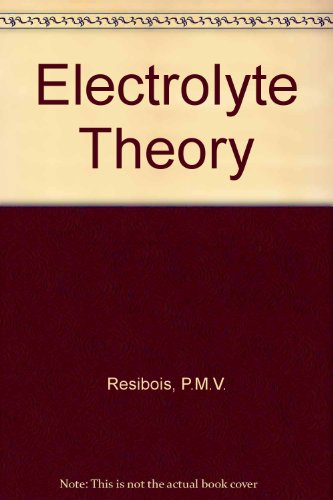 9780060453879: Electrolyte Theory