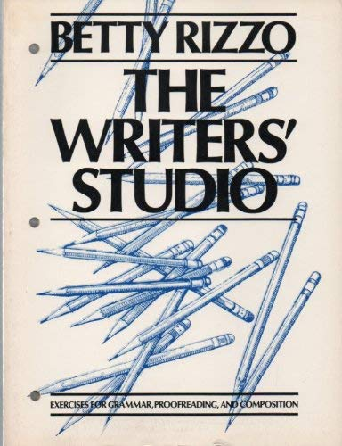 9780060454258: The writers' studio: Exercises for grammar, proofreading, and composition