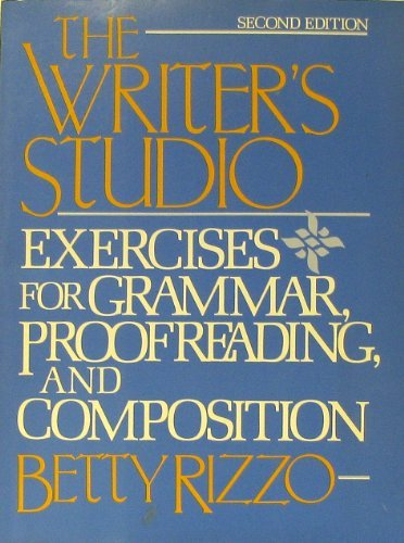9780060454265: Writer's Studio: Exercises for Grammar, Proofreading, and Composition