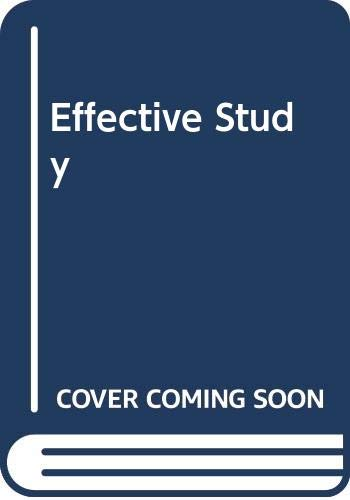 9780060455217: Effective Study