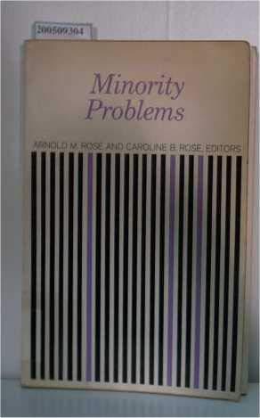 9780060455729: Minority Problems