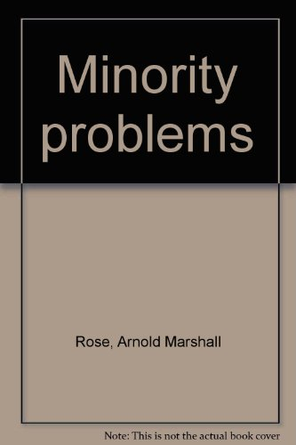 9780060455736: Minority problems