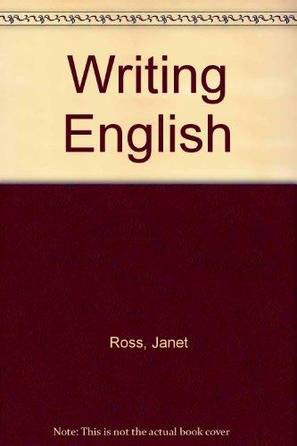 9780060455903: Writing English