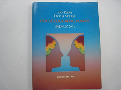 9780060456511: Psychology of Being Human: Brief/Update