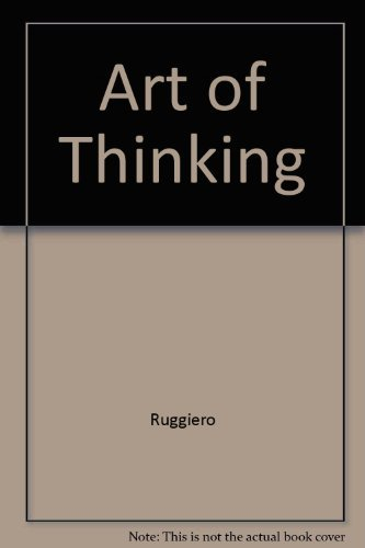 9780060456689: The Art of Thinking