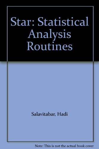 9780060457020: Star: Statistical Analysis Routines
