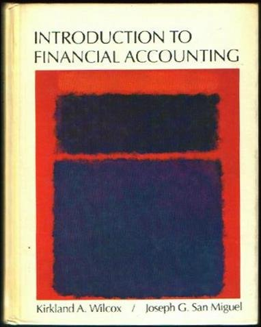 9780060457075: Introduction to Financial Accounting,