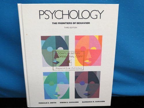 9780060457280: Psychology: The Frontiers of Behavior