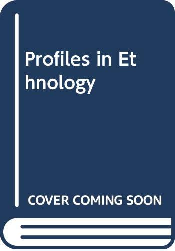 9780060459109: Profiles in Ethnology
