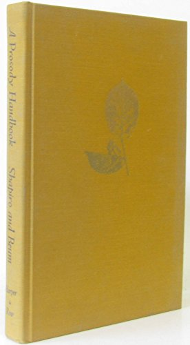9780060459604: A Prosody Handbook