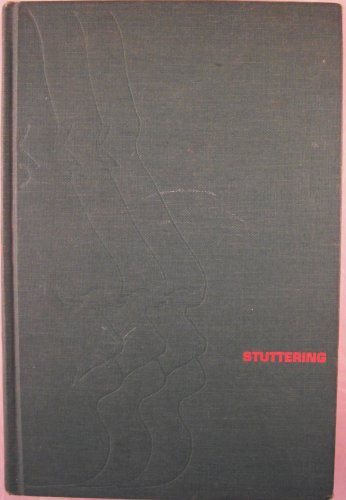 9780060460792: Stuttering: Research and Therapy