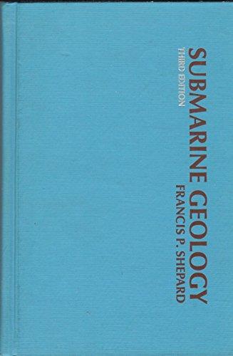 9780060460914: Submarine Geology