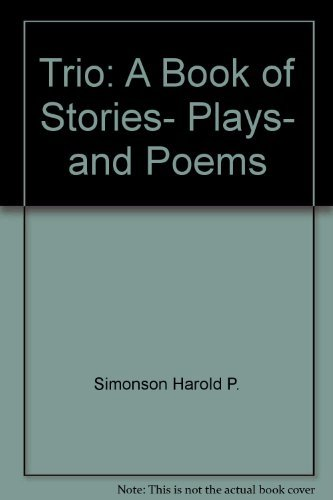 9780060461867: Trio: A book of stories, plays, and poems