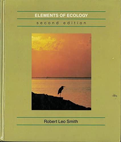 9780060463274: Elements of ecology