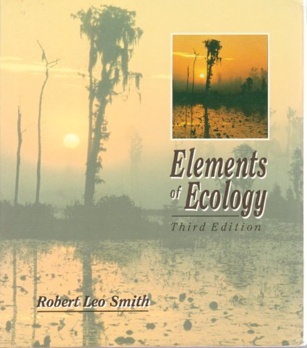 9780060463281: Elements of Ecology and Field Biology