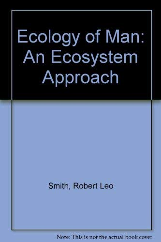 9780060463380: Ecology of Man: An Ecosystem Approach