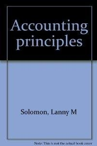 9780060463489: Accounting principles