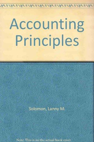 9780060463762: Accounting Principles