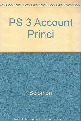 9780060463922: PS 3 Account Princi