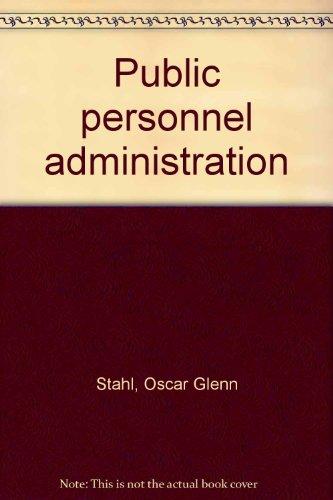 9780060464028: Public Personnel Administration