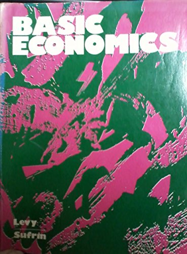9780060465230: Basic Economics: Analysis of Contemporary Problems and Policies