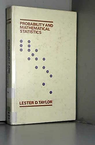9780060465889: Probability and Mathematical Statistics