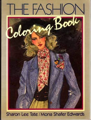 9780060466121: The Fashion Coloring Book
