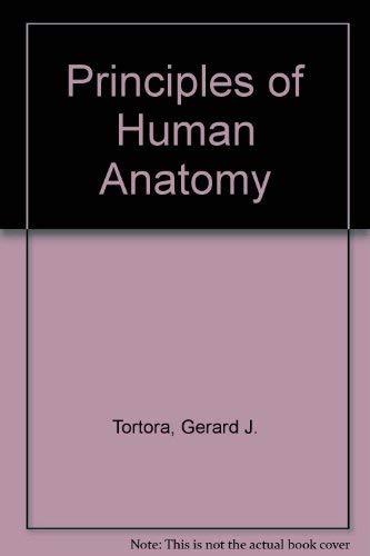 9780060466237: Principles of Human Anatomy