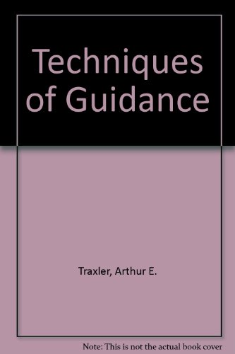 9780060466510: Techniques of Guidance