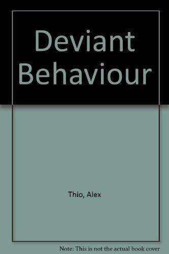 9780060466831: Deviant Behaviour
