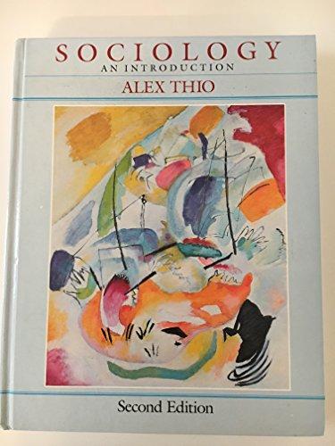 9780060466886: Sociology: An Introduction