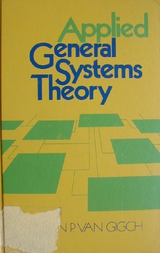9780060467753: Applied General Systems Theory