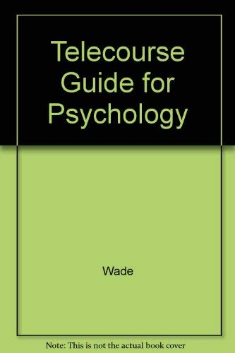 9780060468675: Telecourse Guide for Psychology