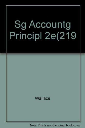 9780060468842: Study Guide Accounting Principles, 2nd Edition